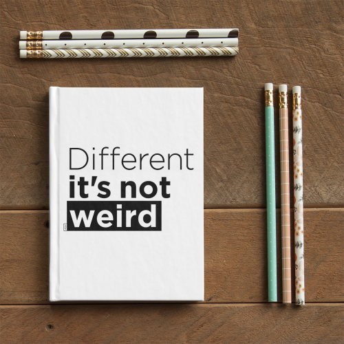 different its not weird Andreaigv notebook